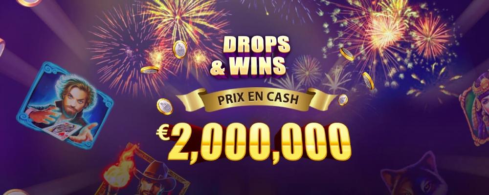 Promo Daily Drops and Wins 2 sur Montecryptoscasino.com