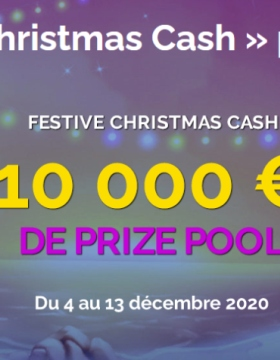 Spéciale promotion « Festive Christmas Cash » sur Montecryptos Casino