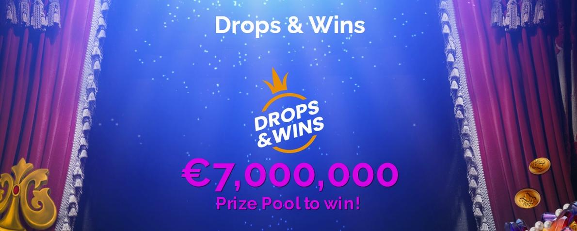 Gagnez votre part des 7 000 000 € sur MonteCryptos Casino avec Drops & Wins