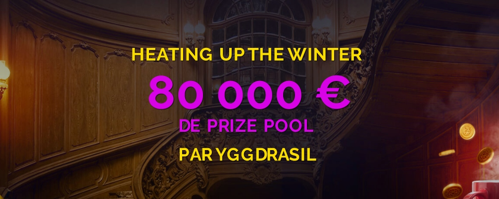 Heating up Winter: 80 000 € de prize pool sur Monte Cryptos Casino