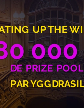 Heating up Winter: 80 000 € de prize pool sur Monte Cryptos Casino