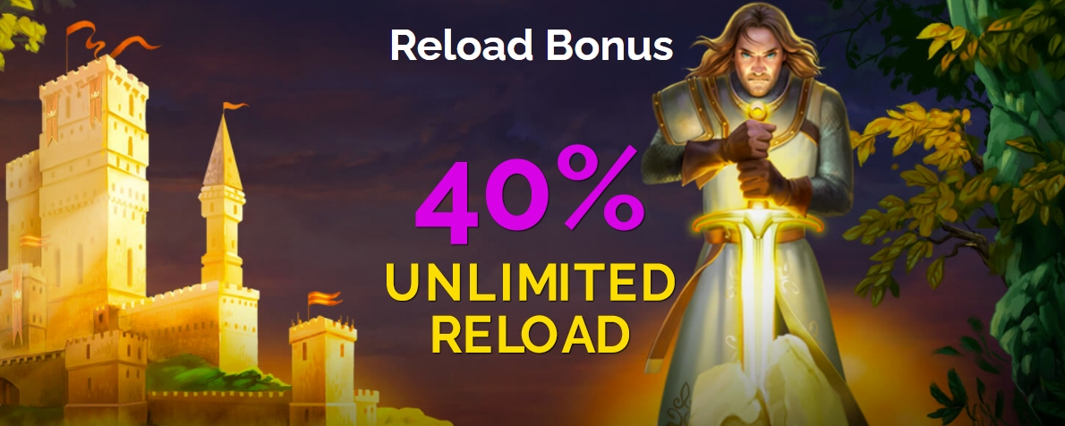 Monte Crypto Brings the Unrivalled 40% Unlimited Reload Bonus to Its Customers