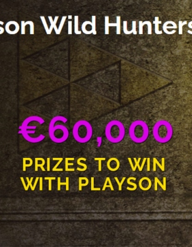Participez au tournoi Playson Wild Hunters 60K sur Montecryptos Casino