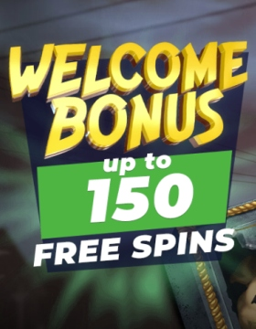 Welcome Bonus up to 150 Free Spins on Winz.io